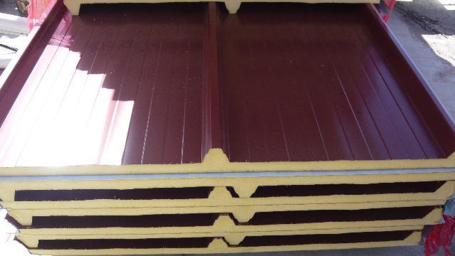Panel sandwich materiales de construcci n mart n garc a - Casas de panel sandwich ...
