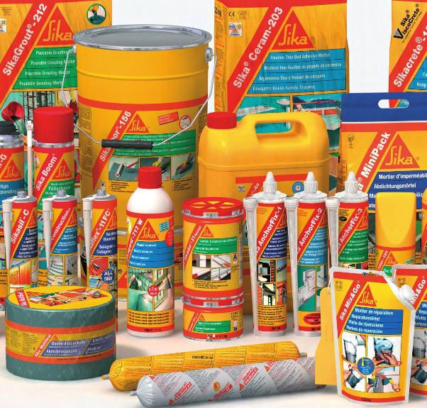Sika materiales de construcci n mart n garc a for Productos sika para piscinas