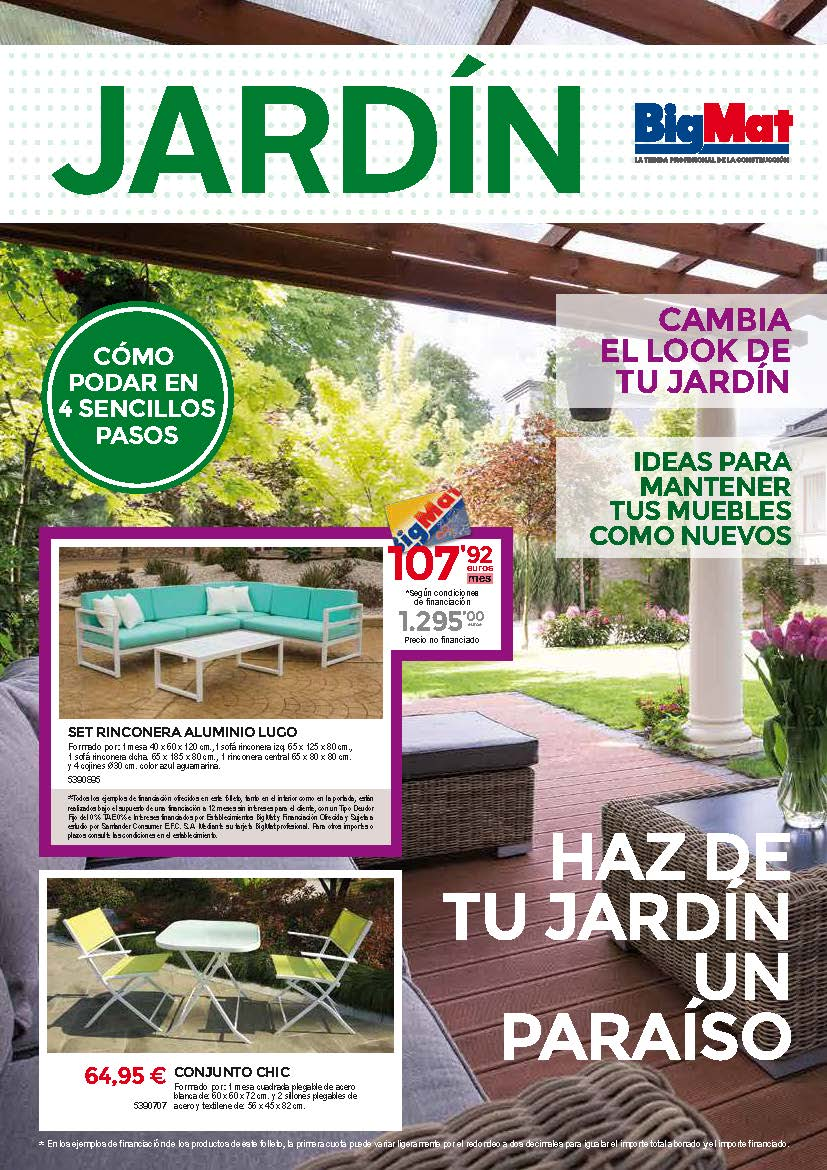 Folleto Jardin 2018
